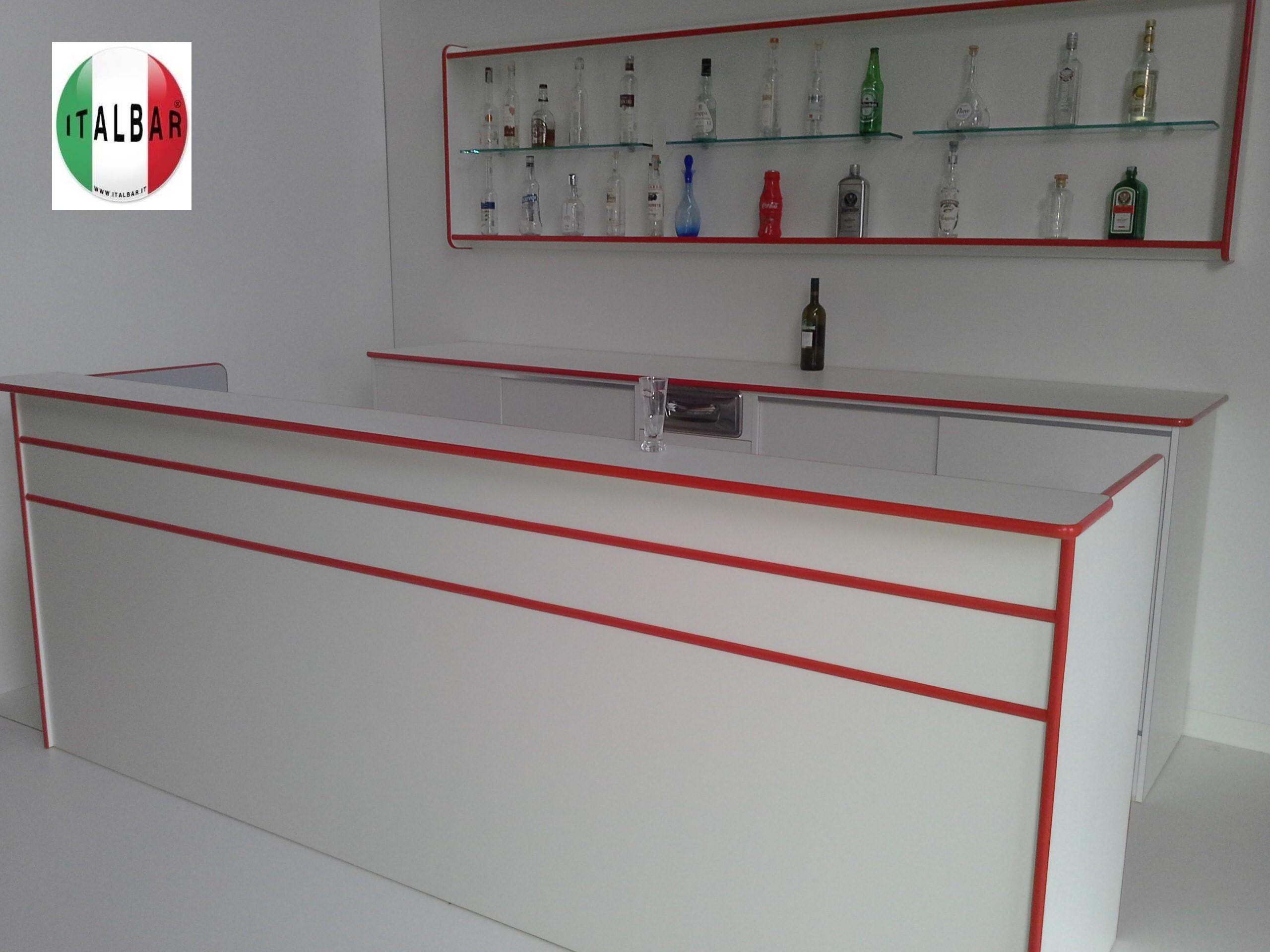 Banchi bar produttori banchi bar grezzi e rivestiti for Arredamento per bar prezzi